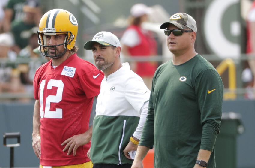 Packers quarterback Aaron Rodgers. (Dan Powers-USA TODAY NETWORK)